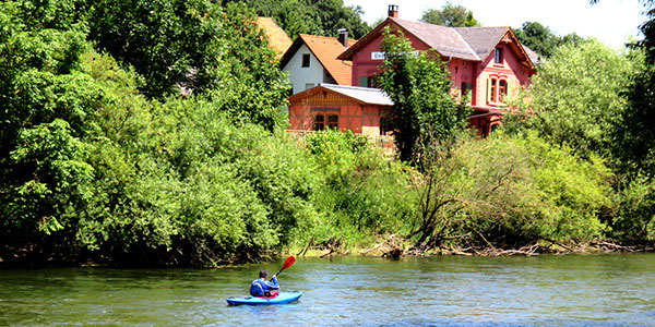 Donau Untermarchtal - Bootfahrer