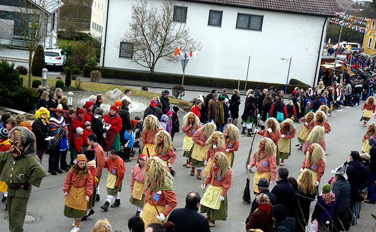 Narrenzunft - Fasnetssamstag in Untermarchtal