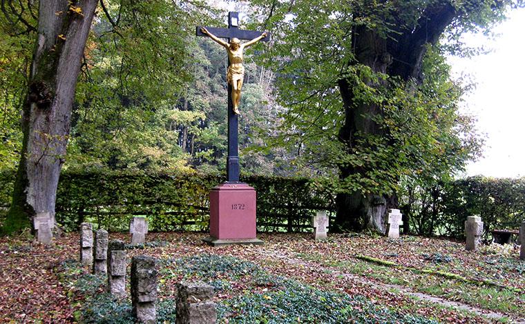 Soldatenfriedhof - Gefallenen-Ehrenstätte bei Untermarchtal