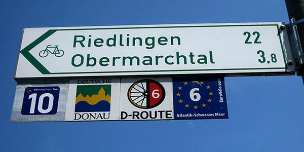 Infotafel Tourismus und Radwanderweg